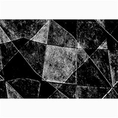Dark Geometric Grunge Pattern Print Collage Prints
