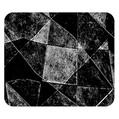 Dark Geometric Grunge Pattern Print Double Sided Flano Blanket (small)  by dflcprints