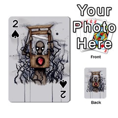 Guillotine Heart Playing Cards 54 Designs