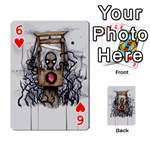 Guillotine Heart Playing Cards 54 Designs  Front - Heart6