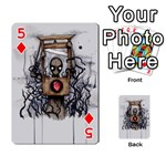 Guillotine Heart Playing Cards 54 Designs  Front - Diamond5