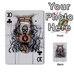 Guillotine Heart Playing Cards 54 Designs  Front - Club10