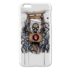 Guillotine Heart Apple iPhone 6 Plus/6S Plus Enamel White Case by lvbart