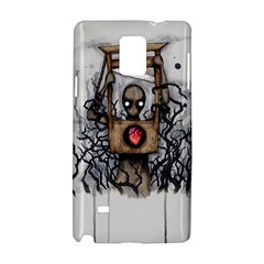 Guillotine Heart Samsung Galaxy Note 4 Hardshell Case by lvbart