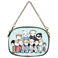 Goonies Vs Monster Squad Chain Purses (one Side)  by lvbart