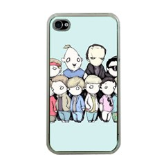 Goonies Vs Monster Squad Apple Iphone 4 Case (clear) by lvbart