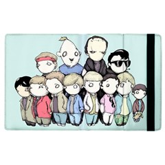 Goonies Vs Monster Squad Apple iPad 3/4 Flip Case by lvbart
