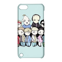 Goonies Vs Monster Squad Apple Ipod Touch 5 Hardshell Case With Stand by lvbart