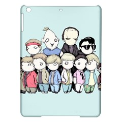 Goonies Vs Monster Squad Ipad Air Hardshell Cases by lvbart