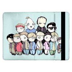 Goonies Vs Monster Squad Samsung Galaxy Tab Pro 12 2  Flip Case by lvbart