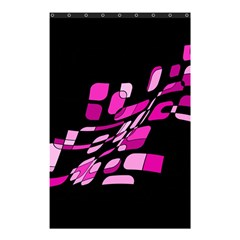 Purple Abstraction Shower Curtain 48  X 72  (small)