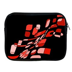 Orange Abstraction Apple Ipad 2/3/4 Zipper Cases by Valentinaart
