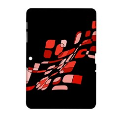 Orange Abstraction Samsung Galaxy Tab 2 (10 1 ) P5100 Hardshell Case  by Valentinaart
