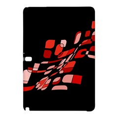 Orange Abstraction Samsung Galaxy Tab Pro 10 1 Hardshell Case by Valentinaart