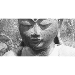 Buddha You Are Invited 3d Greeting Card (8x4)