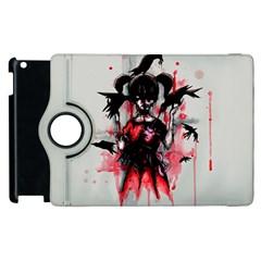 This Is Fine     Apple Ipad 2 Flip 360 Case by lvbart