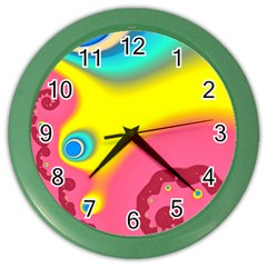 Distinction Color Wall Clocks by TRENDYcouture