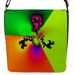 Creation Of Color Flap Messenger Bag (S)