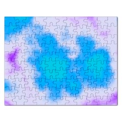Blue And Purple Clouds Rectangular Jigsaw Puzzl by TRENDYcouture