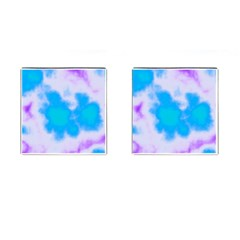 Blue And Purple Clouds Cufflinks (square) by TRENDYcouture