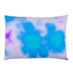 Blue And Purple Clouds Pillow Case by TRENDYcouture
