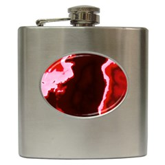 Crimson Sky Hip Flask (6 Oz) by TRENDYcouture