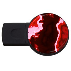 Crimson Sky Usb Flash Drive Round (2 Gb)  by TRENDYcouture