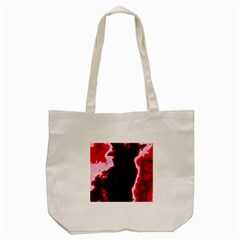 crimson sky Tote Bag (Cream)