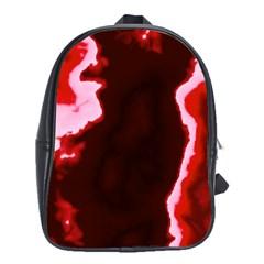 crimson sky School Bags(Large)