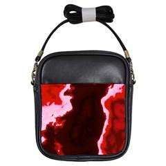 crimson sky Girls Sling Bags