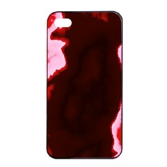 Crimson Sky Apple Iphone 4/4s Seamless Case (black) by TRENDYcouture