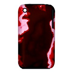 crimson sky Apple iPhone 3G/3GS Hardshell Case (PC+Silicone)