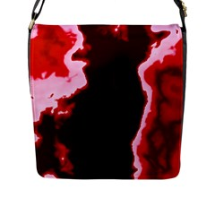 Crimson Sky Flap Messenger Bag (l)  by TRENDYcouture