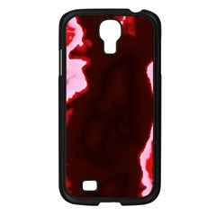 crimson sky Samsung Galaxy S4 I9500/ I9505 Case (Black)