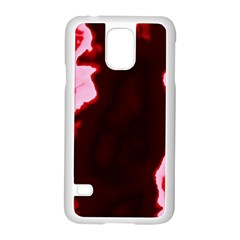 Crimson Sky Samsung Galaxy S5 Case (white) by TRENDYcouture