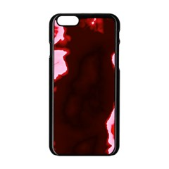 Crimson Sky Apple Iphone 6/6s Black Enamel Case by TRENDYcouture