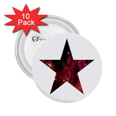 Star 2.25  Buttons (10 pack)  by itsybitsypeakspider