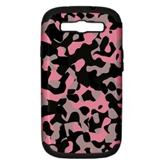 Kitty Camo Samsung Galaxy S Iii Hardshell Case (pc+silicone) by TRENDYcouture