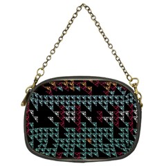 Triangles                                                                               	chain Purse (two Sides) by LalyLauraFLM