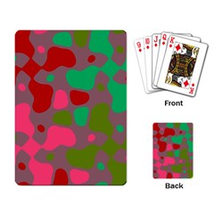 Spots                                                                                			playing Cards Single Design by LalyLauraFLM
