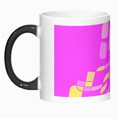 Pink Abstraction Morph Mugs by Valentinaart