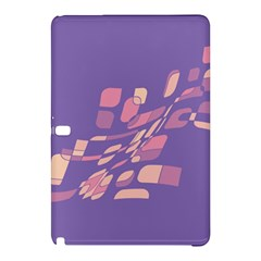 Purple Abstraction Samsung Galaxy Tab Pro 12 2 Hardshell Case by Valentinaart