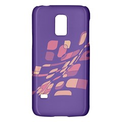 Purple Abstraction Galaxy S5 Mini by Valentinaart