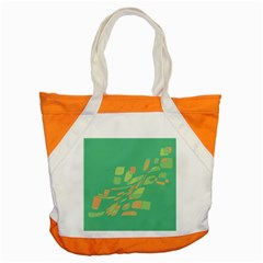 Green Abastraction Accent Tote Bag by Valentinaart