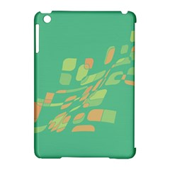 Green Abastraction Apple Ipad Mini Hardshell Case (compatible With Smart Cover) by Valentinaart