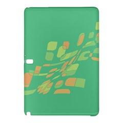 Green Abastraction Samsung Galaxy Tab Pro 10 1 Hardshell Case by Valentinaart