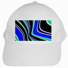 Colors Of 70 s White Cap by Valentinaart