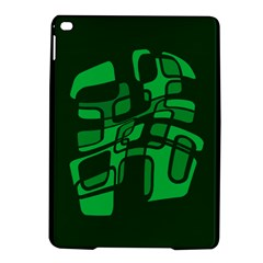 Green Abstraction Ipad Air 2 Hardshell Cases by Valentinaart
