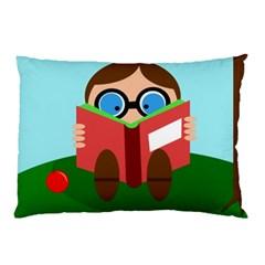 Brainiac Pillow Case by Valentinaart