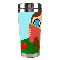 Brainiac Stainless Steel Travel Tumblers by Valentinaart